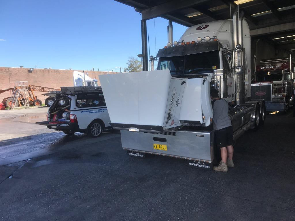 Truck Sleeper Cab Air Conditioning Melbourne Repair